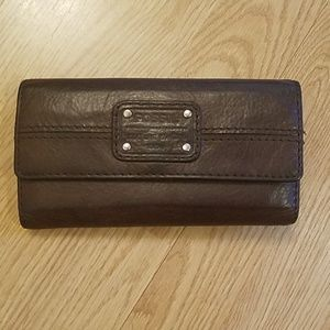 Fossil Brown Leather Wallet